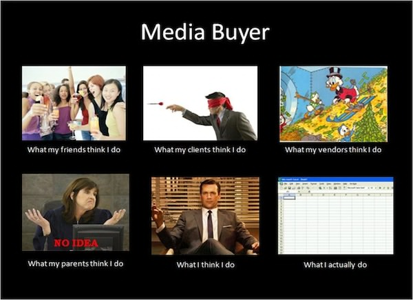 what is media buying traffic